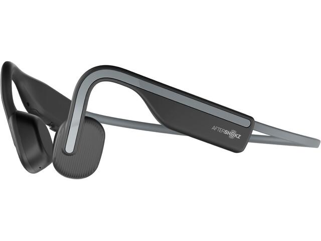 AfterShokz Openmove Bone Conduction Headphones, negro/gris